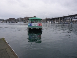 Water Taxi to Granville Island